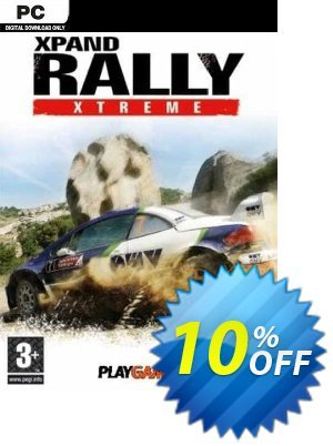 Xpand Rally Xtreme PC Coupon discount Xpand Rally Xtreme PC Deal. Promotion: Xpand Rally Xtreme PC Exclusive Easter Sale offer for iVoicesoft