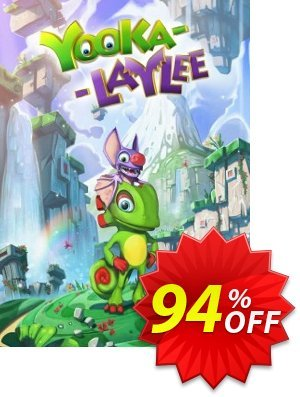 Yooka-Laylee PC Coupon discount Yooka-Laylee PC Deal. Promotion: Yooka-Laylee PC Exclusive Easter Sale offer for iVoicesoft