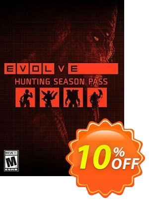 Evolve Hunting Season Pass PC 프로모션 코드 Evolve Hunting Season Pass PC Deal 프로모션: Evolve Hunting Season Pass PC Exclusive Easter Sale offer for iVoicesoft