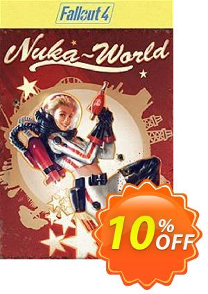 Fallout 4 Nuka-World DLC PC Coupon discount Fallout 4 Nuka-World DLC PC Deal. Promotion: Fallout 4 Nuka-World DLC PC Exclusive Easter Sale offer for iVoicesoft