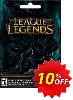 League of Legends: 1475 Riot Points Card discount coupon League of Legends: 1475 Riot Points Card Deal - League of Legends: 1475 Riot Points Card Exclusive Easter Sale offer for iVoicesoft