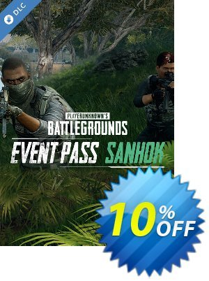 Playerunknowns Battlegrounds (PUBG) PC - Event Pass Sanhok DLC discount coupon Playerunknowns Battlegrounds (PUBG) PC - Event Pass Sanhok DLC Deal - Playerunknowns Battlegrounds (PUBG) PC - Event Pass Sanhok DLC Exclusive Easter Sale offer for iVoicesoft
