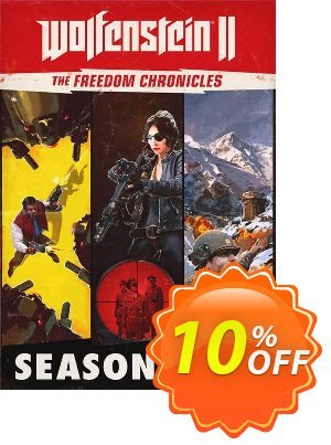 Wolfenstein II 2: The Freedom Chronicles - Season Pass PC discount coupon Wolfenstein II 2: The Freedom Chronicles - Season Pass PC Deal - Wolfenstein II 2: The Freedom Chronicles - Season Pass PC Exclusive Easter Sale offer for iVoicesoft