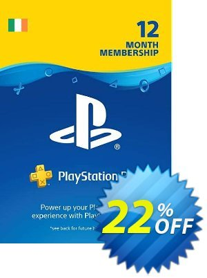 PlayStation Plus - 12 Month Subscription (Ireland) discount coupon PlayStation Plus - 12 Month Subscription (Ireland) Deal - PlayStation Plus - 12 Month Subscription (Ireland) Exclusive Easter Sale offer for iVoicesoft