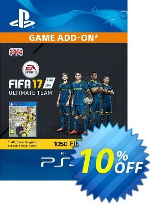 1050 FIFA 17 Points PS4 PSN Code - UK account offering sales 1050 FIFA 17 Points PS4 PSN Code - UK account Deal. Promotion: 1050 FIFA 17 Points PS4 PSN Code - UK account Exclusive Easter Sale offer for iVoicesoft