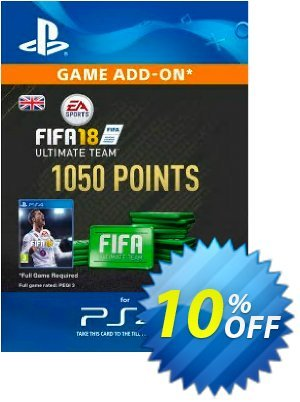 1050 FIFA 18 Points PS4 PSN Code - UK account discount coupon 1050 FIFA 18 Points PS4 PSN Code - UK account Deal - 1050 FIFA 18 Points PS4 PSN Code - UK account Exclusive Easter Sale offer for iVoicesoft