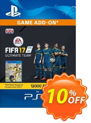 12000 FIFA 17 Points PS4 PSN Code - UK account discount coupon 12000 FIFA 17 Points PS4 PSN Code - UK account Deal - 12000 FIFA 17 Points PS4 PSN Code - UK account Exclusive Easter Sale offer for iVoicesoft