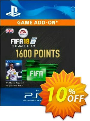1600 FIFA 18 Points PS4 PSN Code - UK account discount coupon 1600 FIFA 18 Points PS4 PSN Code - UK account Deal - 1600 FIFA 18 Points PS4 PSN Code - UK account Exclusive Easter Sale offer for iVoicesoft