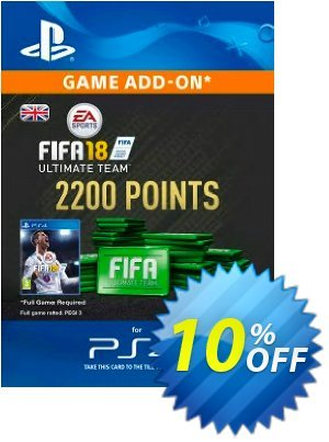 2200 FIFA 18 Points PS4 PSN Code - UK account discount coupon 2200 FIFA 18 Points PS4 PSN Code - UK account Deal - 2200 FIFA 18 Points PS4 PSN Code - UK account Exclusive Easter Sale offer for iVoicesoft