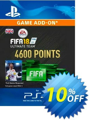 4600 FIFA 18 Points PS4 PSN Code - UK account 優惠券,折扣碼 4600 FIFA 18 Points PS4 PSN Code - UK account Deal,促銷代碼: 4600 FIFA 18 Points PS4 PSN Code - UK account Exclusive Easter Sale offer for iVoicesoft