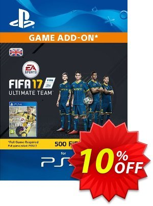 500 FIFA 17 Points PS4 PSN Code - UK account discount coupon 500 FIFA 17 Points PS4 PSN Code - UK account Deal - 500 FIFA 17 Points PS4 PSN Code - UK account Exclusive Easter Sale offer for iVoicesoft