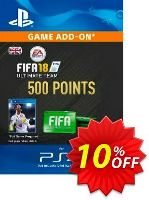 500 FIFA 18 Points PS4 PSN Code - UK account discount coupon 500 FIFA 18 Points PS4 PSN Code - UK account Deal - 500 FIFA 18 Points PS4 PSN Code - UK account Exclusive Easter Sale offer for iVoicesoft