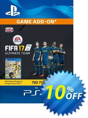 750 FIFA 17 Points PS4 PSN Code - UK account discount coupon 750 FIFA 17 Points PS4 PSN Code - UK account Deal - 750 FIFA 17 Points PS4 PSN Code - UK account Exclusive Easter Sale offer for iVoicesoft