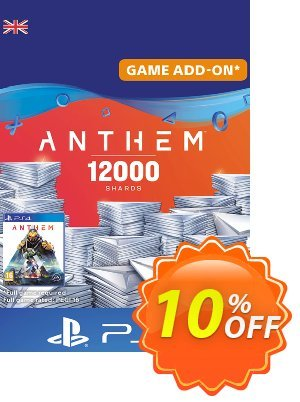 Anthem 12000 Shards PS4 (UK) discount coupon Anthem 12000 Shards PS4 (UK) Deal - Anthem 12000 Shards PS4 (UK) Exclusive Easter Sale offer for iVoicesoft