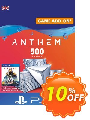 Anthem 500 Shards PS4 (UK) discount coupon Anthem 500 Shards PS4 (UK) Deal - Anthem 500 Shards PS4 (UK) Exclusive Easter Sale offer for iVoicesoft