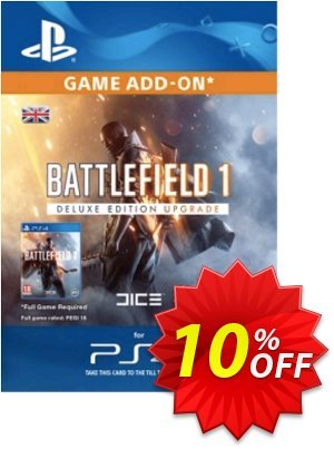 Battlefield 1 Deluxe Edition ADD-ON PS4 프로모션 코드 Battlefield 1 Deluxe Edition ADD-ON PS4 Deal 프로모션: Battlefield 1 Deluxe Edition ADD-ON PS4 Exclusive Easter Sale offer for iVoicesoft