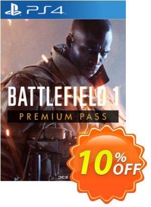 Battlefield 1 Premium Pass PS4 Coupon discount Battlefield 1 Premium Pass PS4 Deal. Promotion: Battlefield 1 Premium Pass PS4 Exclusive Easter Sale offer for iVoicesoft