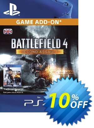 Battlefield 4 Second Assault DLC PS4 Coupon discount Battlefield 4 Second Assault DLC PS4 Deal. Promotion: Battlefield 4 Second Assault DLC PS4 Exclusive Easter Sale offer for iVoicesoft