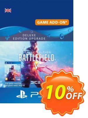 Battlefield V 5 Deluxe Edition Upgrade PS4 優惠券,折扣碼 Battlefield V 5 Deluxe Edition Upgrade PS4 Deal,促銷代碼: Battlefield V 5 Deluxe Edition Upgrade PS4 Exclusive Easter Sale offer for iVoicesoft