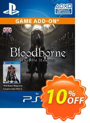 Bloodborne The Old Hunters DLC PS4 프로모션 코드 Bloodborne The Old Hunters DLC PS4 Deal 프로모션: Bloodborne The Old Hunters DLC PS4 Exclusive Easter Sale offer for iVoicesoft