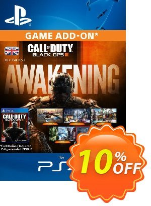 Call of Duty (COD) Black Ops III 3 Awakening DLC PS4 優惠券,折扣碼 Call of Duty (COD) Black Ops III 3 Awakening DLC PS4 Deal,促銷代碼: Call of Duty (COD) Black Ops III 3 Awakening DLC PS4 Exclusive Easter Sale offer for iVoicesoft