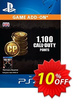 Call of Duty (COD) Black Ops III 3 Points 1000 (+100) PS4 discount coupon Call of Duty (COD) Black Ops III 3 Points 1000 (+100) PS4 Deal - Call of Duty (COD) Black Ops III 3 Points 1000 (+100) PS4 Exclusive Easter Sale offer for iVoicesoft