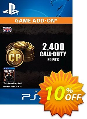 Call of Duty (COD) Black Ops III 3 Points 2000 (+400) PS4 discount coupon Call of Duty (COD) Black Ops III 3 Points 2000 (+400) PS4 Deal - Call of Duty (COD) Black Ops III 3 Points 2000 (+400) PS4 Exclusive Easter Sale offer for iVoicesoft