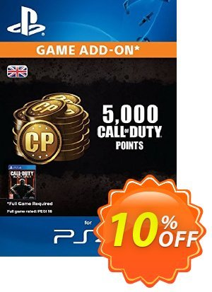 Call of Duty (COD) Black Ops III 3 Points 4000(+1000) PS4 優惠券,折扣碼 Call of Duty (COD) Black Ops III 3 Points 4000(+1000) PS4 Deal,促銷代碼: Call of Duty (COD) Black Ops III 3 Points 4000(+1000) PS4 Exclusive Easter Sale offer for iVoicesoft