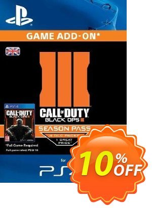 Call of Duty (COD): Black Ops III 3 Season Pass (PS4) discount coupon Call of Duty (COD): Black Ops III 3 Season Pass (PS4) Deal - Call of Duty (COD): Black Ops III 3 Season Pass (PS4) Exclusive Easter Sale offer for iVoicesoft