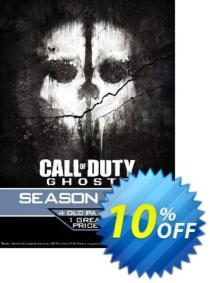 Call of Duty (COD): Ghosts - Season Pass (PSN) PS3/PS4 discount coupon Call of Duty (COD): Ghosts - Season Pass (PSN) PS3/PS4 Deal - Call of Duty (COD): Ghosts - Season Pass (PSN) PS3/PS4 Exclusive Easter Sale offer for iVoicesoft