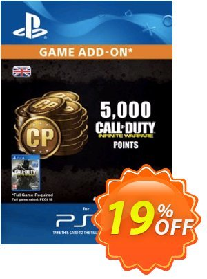 Call of Duty (COD) Infinite Warfare - 5000 Points PS4 discount coupon Call of Duty (COD) Infinite Warfare - 5000 Points PS4 Deal - Call of Duty (COD) Infinite Warfare - 5000 Points PS4 Exclusive Easter Sale offer for iVoicesoft