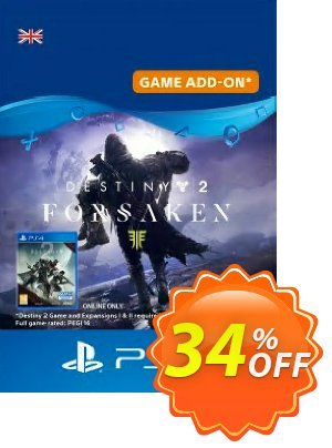 Destiny 2: Forsaken DLC PS4 discount coupon Destiny 2: Forsaken DLC PS4 Deal - Destiny 2: Forsaken DLC PS4 Exclusive Easter Sale offer for iVoicesoft