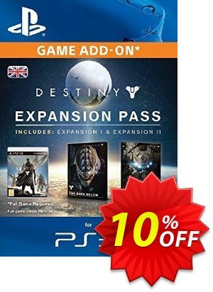 Destiny Expansion Pass PS3 discount coupon Destiny Expansion Pass PS3 Deal - Destiny Expansion Pass PS3 Exclusive Easter Sale offer for iVoicesoft