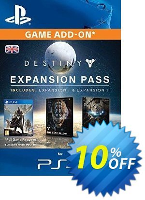 Destiny Expansion Pass PS4 discount coupon Destiny Expansion Pass PS4 Deal - Destiny Expansion Pass PS4 Exclusive Easter Sale offer for iVoicesoft