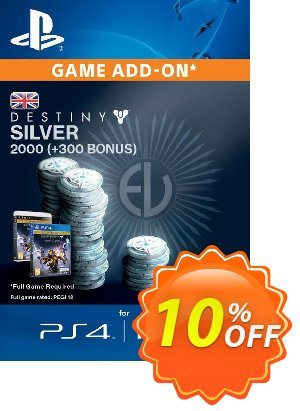 Destiny Silver 2000 (300) PS4 Coupon discount Destiny Silver 2000 (300) PS4 Deal. Promotion: Destiny Silver 2000 (300) PS4 Exclusive Easter Sale offer for iVoicesoft