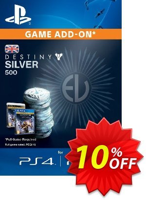 Destiny Silver 500 PS3/PS4 discount coupon Destiny Silver 500 PS3/PS4 Deal - Destiny Silver 500 PS3/PS4 Exclusive Easter Sale offer for iVoicesoft
