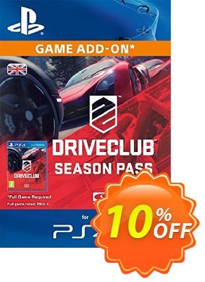 DRIVECLUB Season Pass PS4 優惠券,折扣碼 DRIVECLUB Season Pass PS4 Deal,促銷代碼: DRIVECLUB Season Pass PS4 Exclusive Easter Sale offer for iVoicesoft