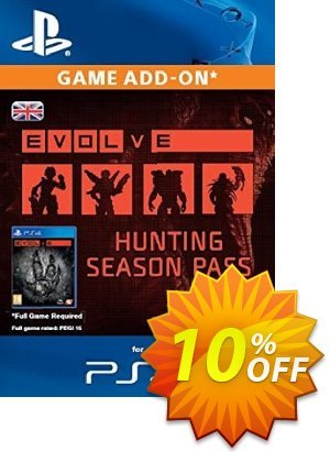 Evolve Hunting Season Pass PS4 優惠券,折扣碼 Evolve Hunting Season Pass PS4 Deal,促銷代碼: Evolve Hunting Season Pass PS4 Exclusive Easter Sale offer for iVoicesoft