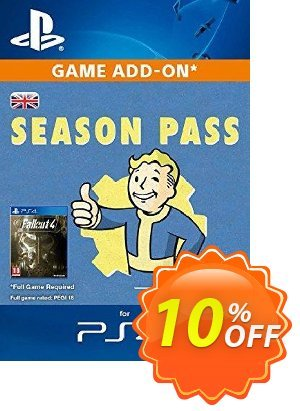 Fallout 4 Season Pass (PS4) discount coupon Fallout 4 Season Pass (PS4) Deal - Fallout 4 Season Pass (PS4) Exclusive Easter Sale offer for iVoicesoft