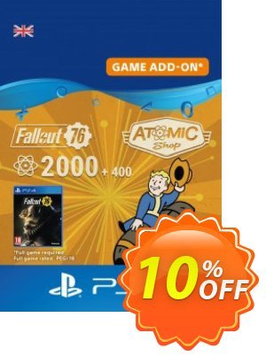 Fallout 76 - 2400 Atoms PS4 Coupon discount Fallout 76 - 2400 Atoms PS4 Deal. Promotion: Fallout 76 - 2400 Atoms PS4 Exclusive Easter Sale offer for iVoicesoft