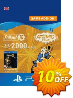 Fallout 76 - 2400 Atoms PS4 discount coupon Fallout 76 - 2400 Atoms PS4 Deal - Fallout 76 - 2400 Atoms PS4 Exclusive Easter Sale offer for iVoicesoft