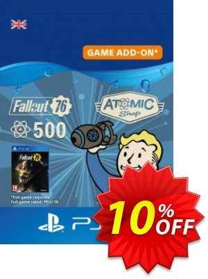 Fallout 76 - 500 Atoms PS4 discount coupon Fallout 76 - 500 Atoms PS4 Deal - Fallout 76 - 500 Atoms PS4 Exclusive Easter Sale offer for iVoicesoft