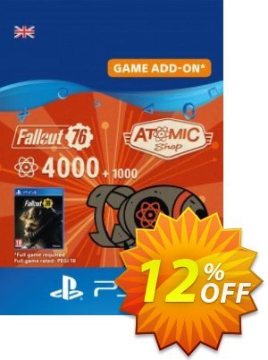 Fallout 76 - 5000 Atoms PS4 discount coupon Fallout 76 - 5000 Atoms PS4 Deal - Fallout 76 - 5000 Atoms PS4 Exclusive Easter Sale offer for iVoicesoft