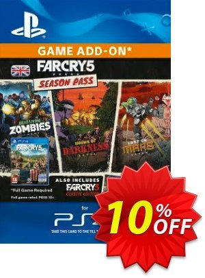 Far Cry 5 Season Pass PS4 discount coupon Far Cry 5 Season Pass PS4 Deal - Far Cry 5 Season Pass PS4 Exclusive Easter Sale offer for iVoicesoft