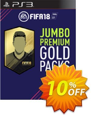 FIFA 18 PS3 - 5 Jumbo Premium Gold Packs DLC 優惠券,折扣碼 FIFA 18 PS3 - 5 Jumbo Premium Gold Packs DLC Deal,促銷代碼: FIFA 18 PS3 - 5 Jumbo Premium Gold Packs DLC Exclusive Easter Sale offer for iVoicesoft