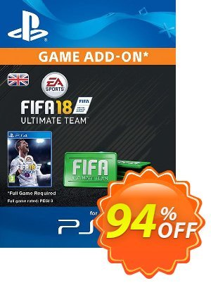 FIFA 18 Ultimate Team Pack PS4 discount coupon FIFA 18 Ultimate Team Pack PS4 Deal - FIFA 18 Ultimate Team Pack PS4 Exclusive Easter Sale offer for iVoicesoft