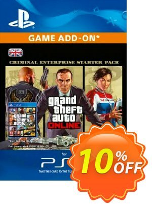 Grand Theft Auto Online (GTA V) - Criminal Enterprise Starter Pack PS4 discount coupon Grand Theft Auto Online (GTA V) - Criminal Enterprise Starter Pack PS4 Deal - Grand Theft Auto Online (GTA V) - Criminal Enterprise Starter Pack PS4 Exclusive Easter Sale offer for iVoicesoft