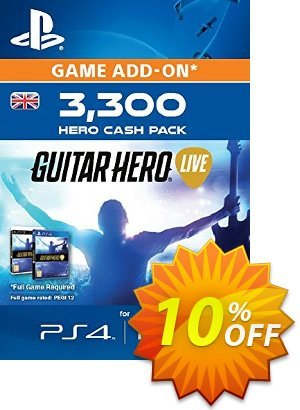 Guitar Hero Live 3300 Hero Cash Pack PS4 Coupon discount Guitar Hero Live 3300 Hero Cash Pack PS4 Deal. Promotion: Guitar Hero Live 3300 Hero Cash Pack PS4 Exclusive Easter Sale offer for iVoicesoft