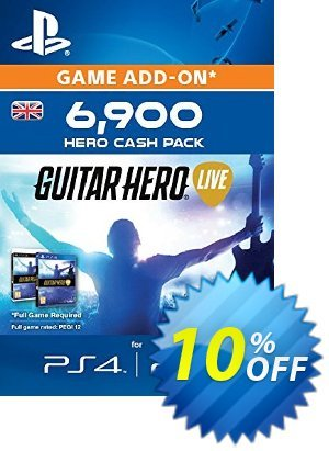 Guitar Hero Live 6900 Hero Cash Pack PS4 discount coupon Guitar Hero Live 6900 Hero Cash Pack PS4 Deal - Guitar Hero Live 6900 Hero Cash Pack PS4 Exclusive Easter Sale offer for iVoicesoft
