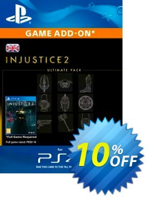 Injustice 2 Ultimate Pack PS4 discount coupon Injustice 2 Ultimate Pack PS4 Deal - Injustice 2 Ultimate Pack PS4 Exclusive Easter Sale offer for iVoicesoft